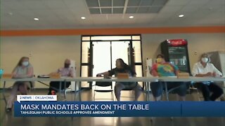 Tahlequah Public Schools votes to approve mask requirement for students
