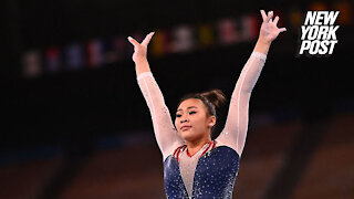 Suni Lee wins gold in all-around gymnastics with Simone Biles sitting out Olympics