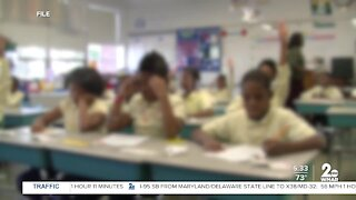 First day of school for Baltimore City