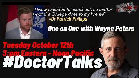 Doctor Talks 19: 1 on 1 with Dr Patrick Phillips