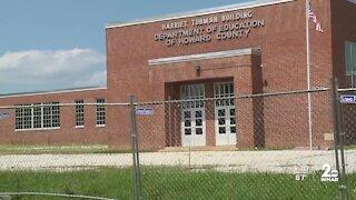 Harriet Tubman School damaged in Howard County
