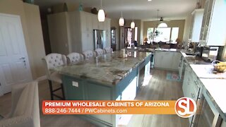 Premium Wholesale Cabinets of Arizona showcases its product in a whole house remodel in Phoenix