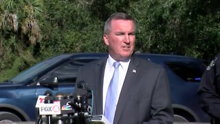 FBI holds news conference about Brian Laundrie search