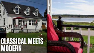 This Waterfront Nova Scotia House Is Charming AF & Only Costs $138K