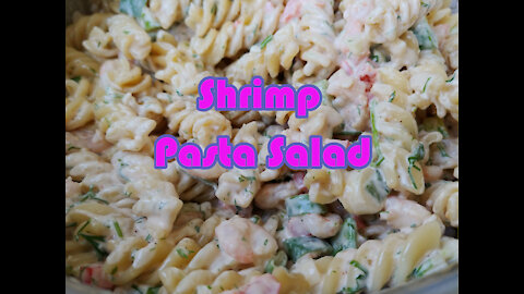 Delicious And Easy Shrimp Pasta Salad