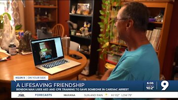 An unlikely friendship from a lifesaving experience