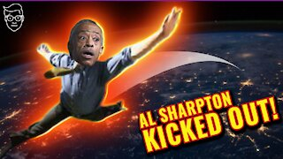 Al Sharpton SHOUTED OUT Of TEXAS
