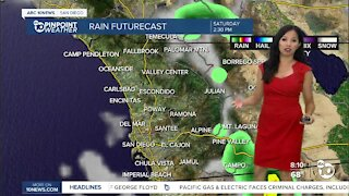 ABC 10News Pinpoint Weather for Sat. Sept. 25, 2021