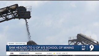 UArizona School of Mining and Mineral Resources received $4M from state