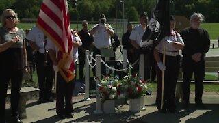 POW/MIA 'Chair of Honor' dedicated at Parma's Veterans Memorial Park