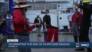 Floridians celebrate the end of hurricane season