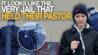 Rebel News attends illegal GraceLife church service at secret location