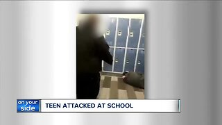 Student with autism's brutal attack at school caught on camera