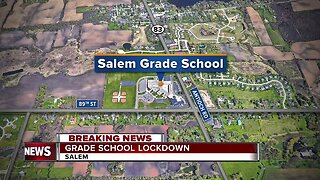 Salem Grade School under lockdown after written threat
