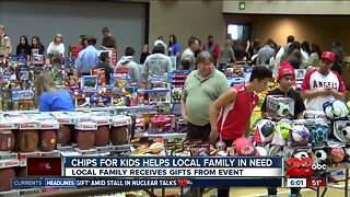 CHiPS for Kids helps local family