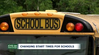 Debate over school start times continues