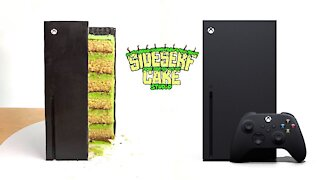 Learn how to bake a realistic XBox Series X CAKE