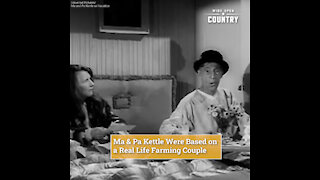 Ma & Pa Kettle, '50s Comedy Stars, Were Based on a Real Life Farming Couple