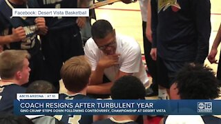 State champion Desert Vista basketball coach resigns
