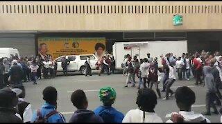 SOUTH AFRICA - Johannesburg - School protest (videos) (BBM)