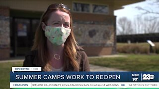 Summer camps work to reopen
