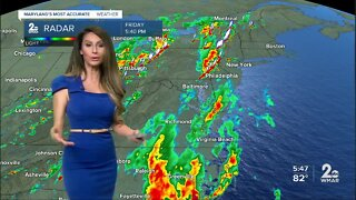 T'storms Friday Night