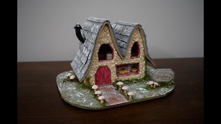 Winter Fairy Garden - Bakery Part 2