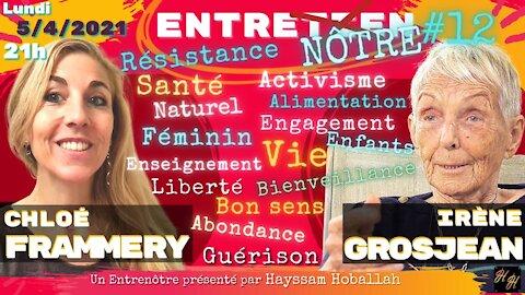 Irène Grosjean & Chloé F. avec Hayssam Hoballah 🍓 Gai-Rire en mangeant vivant !