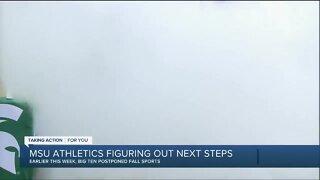 Michigan State AD Bill Beekman talks the effect of fall sports postponement