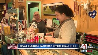 Small Business Saturday underway