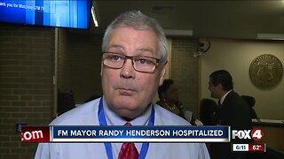 City of Fort Myers Mayor hospitalized