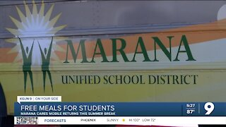 Marana Cares Mobile offering free meals for students this summer