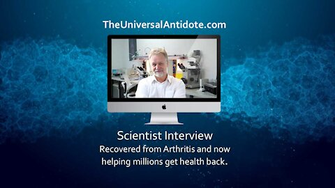 Scientist cured of arthritis and then dedicates his life to helping others-Andreas Kalcker Interview