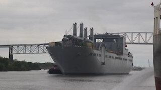 EDRE Port Operations at Port of Port Arthur, TX