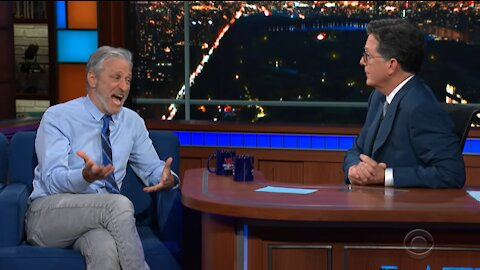 COVID origins: Jon Stewart had the balls to say it