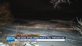 Man drowns after ATV falls through ice