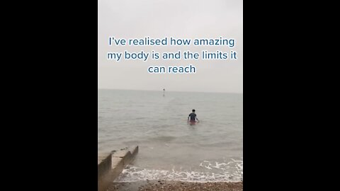 Man Swims In The Ocean Everyday And It's Drastically Improved His Mental Health!