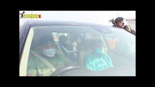Varun Dhawan's Family with Natasha spotted leaving for Alibaug ahead of their wedding