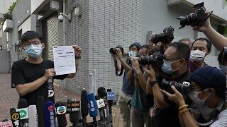 Pro-Democracy Activist Joshua Wong Arrested By Hong Kong Police