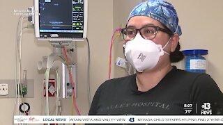 Valley Hospital ER nurse honored during National Nurses Week