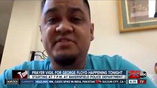 Prayer vigil for George Floyd on Thursday night