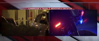 Las Vegas police investigate 2 separate homicides overnight