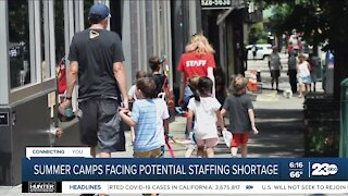 Camps having problems getting counselors for the summer season