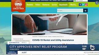 Chula Vista greenlights rent relief program