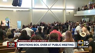 Hundreds attend meeting about Phoenix police
