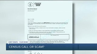Dont Waste Your Money: Census call or scam?