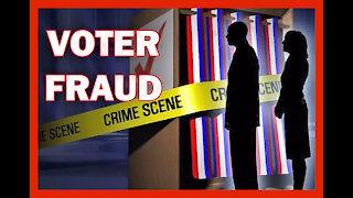 Voter Fraud Evidence via Surveillance Video