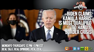 Biden Officially Places Kamala Harris In Charge Of Border Crisis