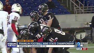 Franklin wins state championship