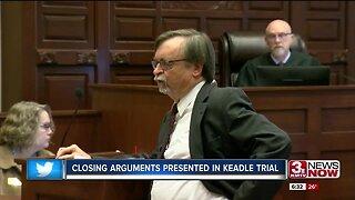 Closing arguments presented in Keadle trial
